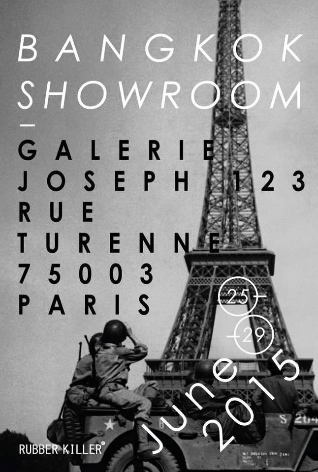 Rubber Killer® is exhibiting in Galerie Joseph, Paris!